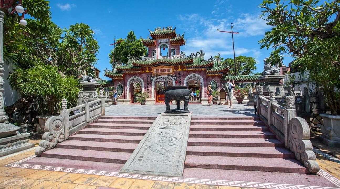 Jinshan temple Hoi An