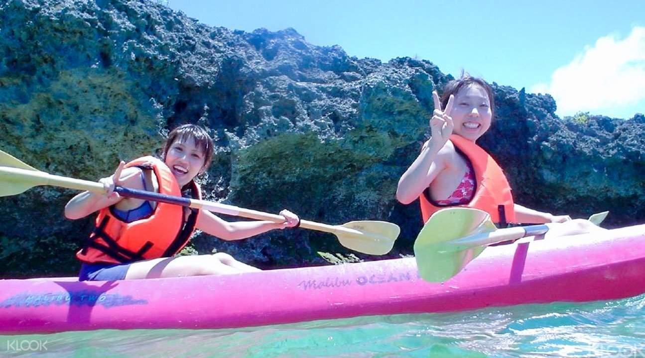 沖繩浮潛和獨木舟2