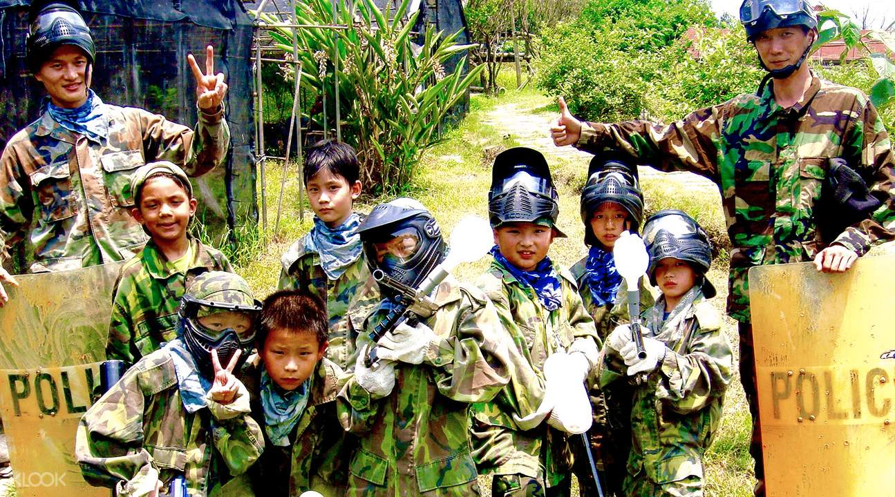 Paintball game Taipei
