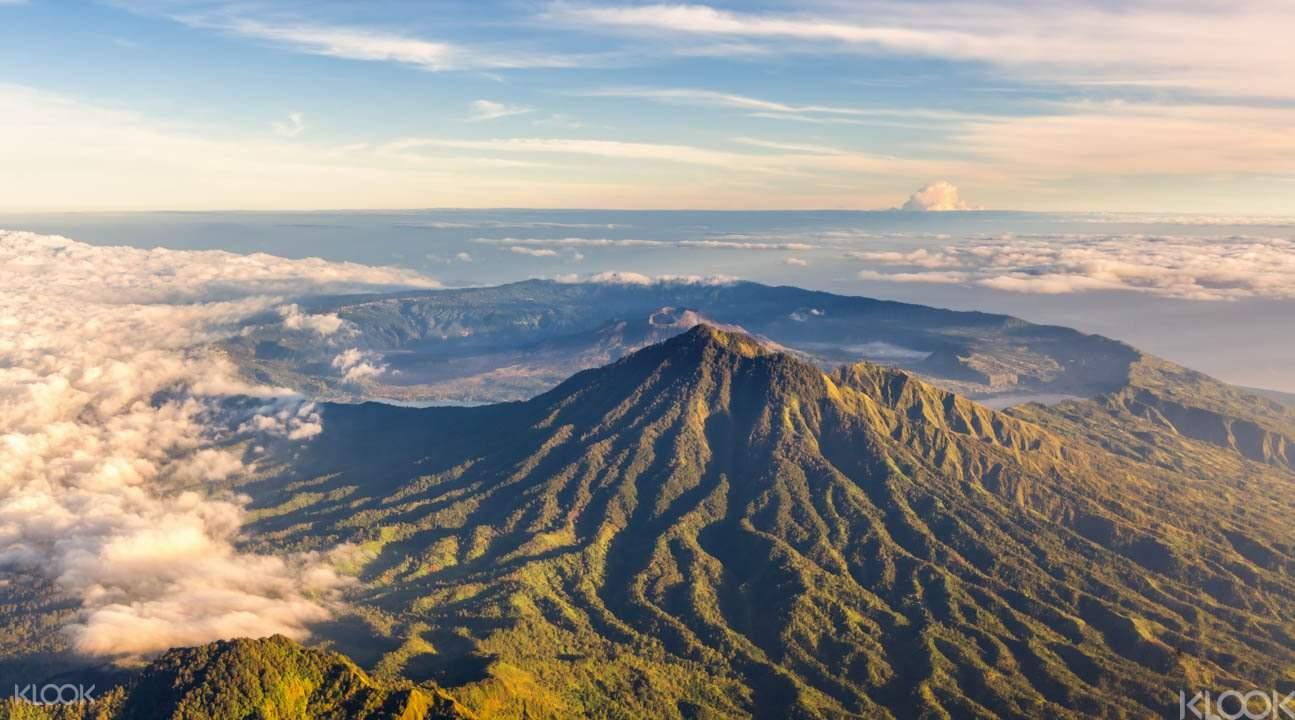 巴图尔火山Mt. Batur caldera