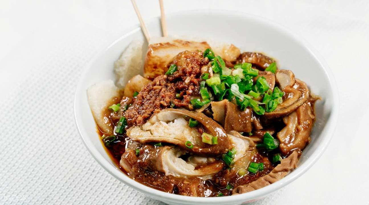 十八座狗仔粉- 香港尖沙咀的港式街頭小食(米其林推介)