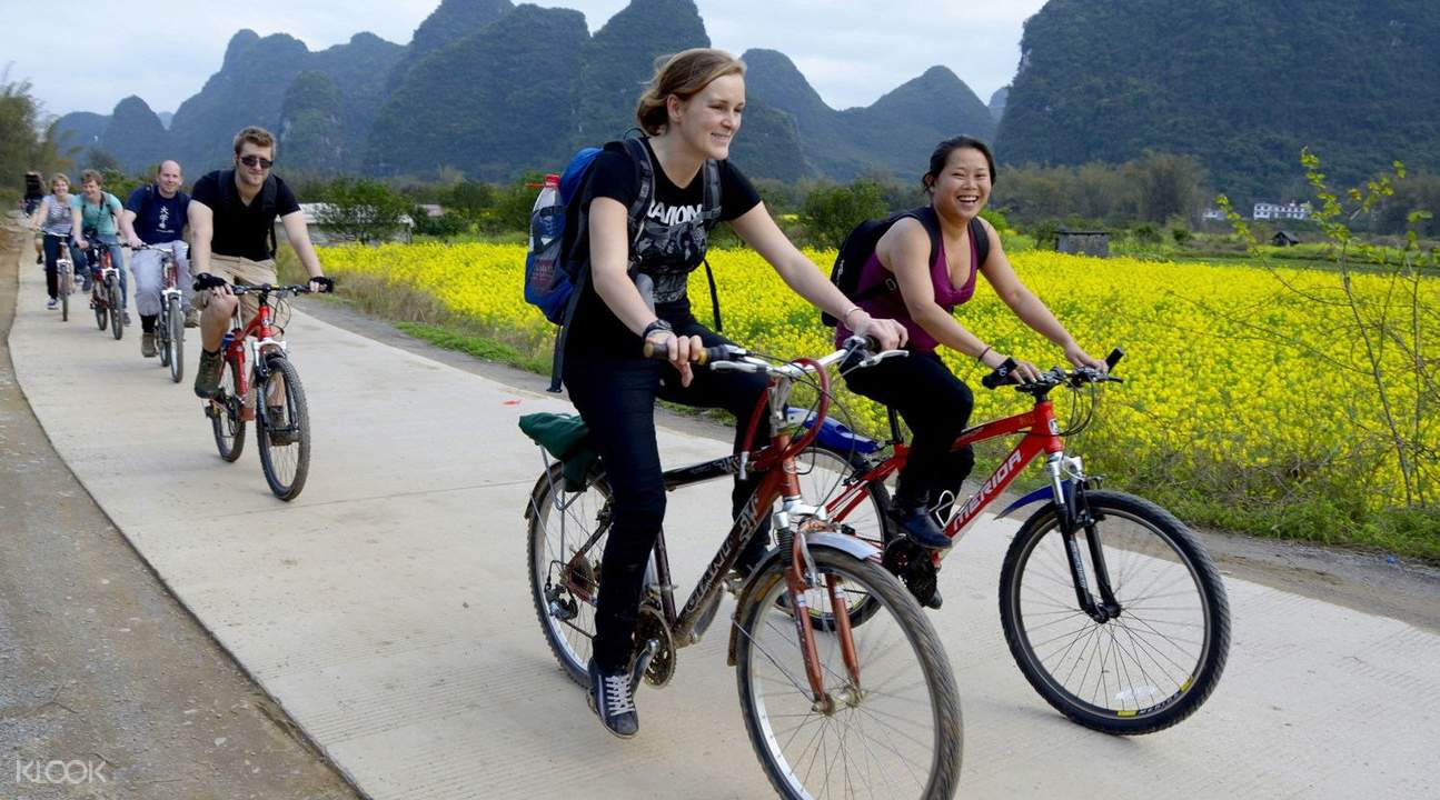 Yangshuo Guided Biking Day Tour