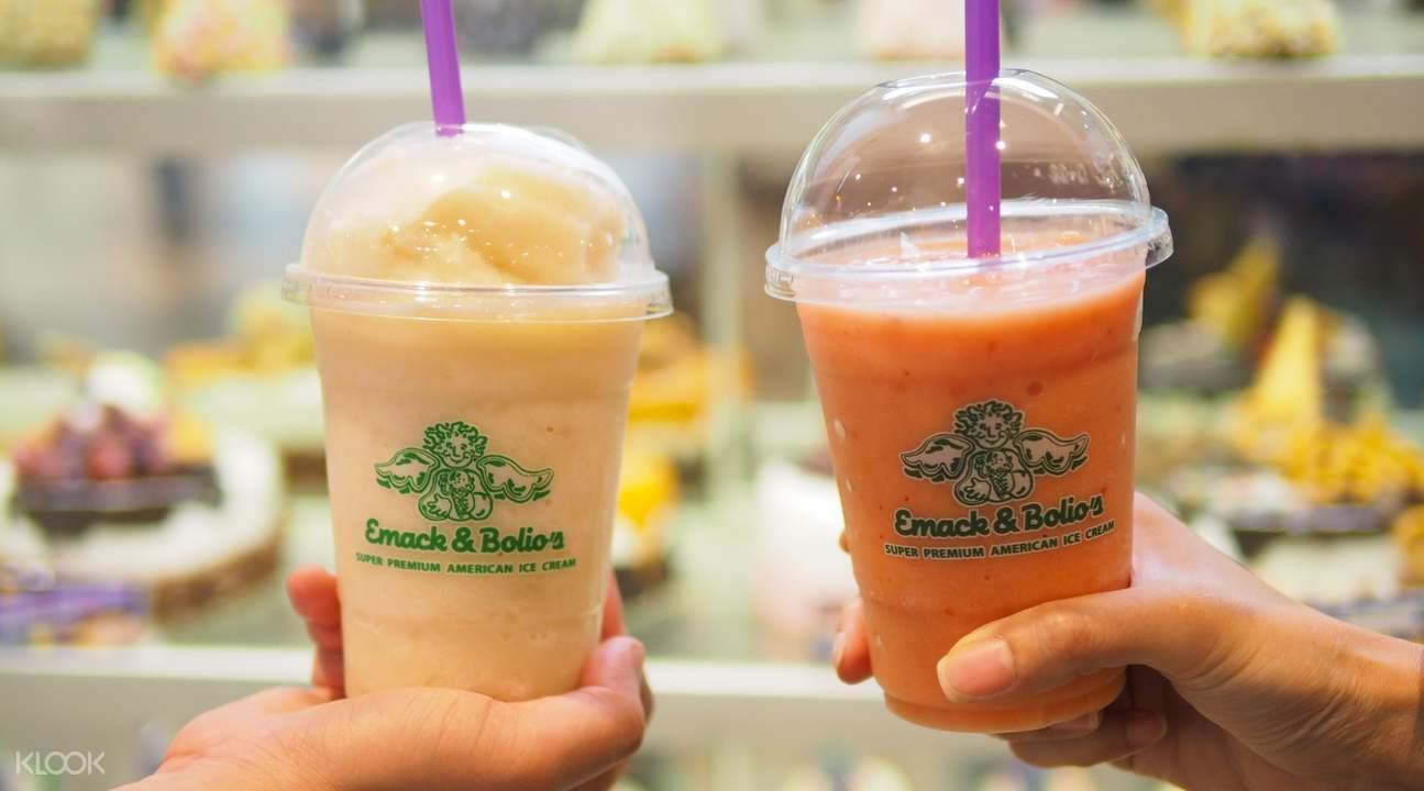 coney island colada and citrus cooler siam center bangkok