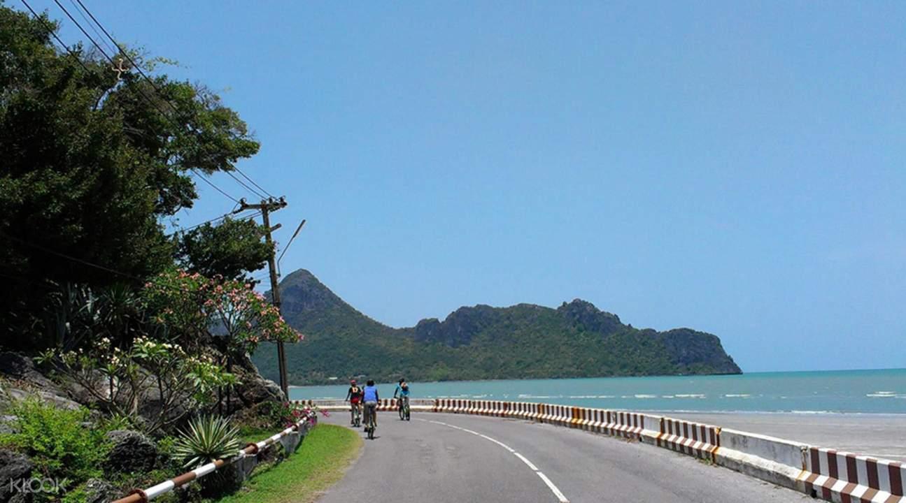 华欣 海岸线骑行一日游