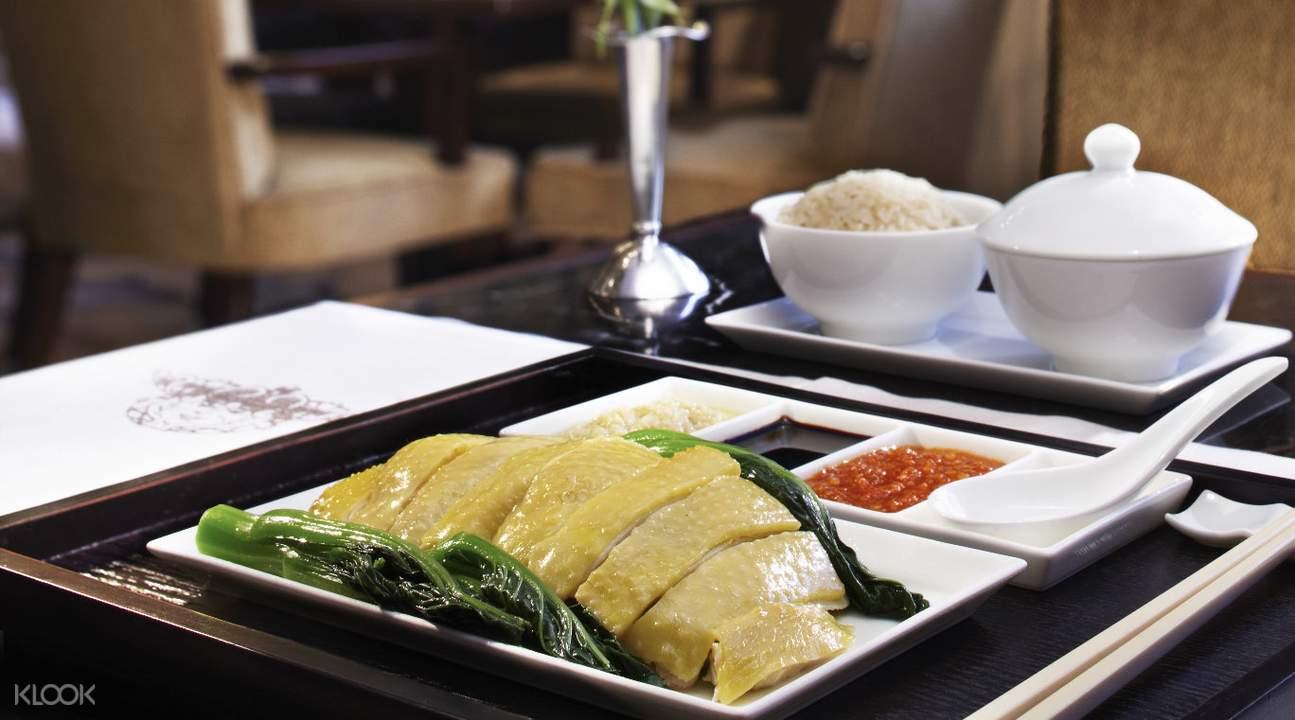 香港半岛酒店 大堂茶座 周末海鲜早午餐
