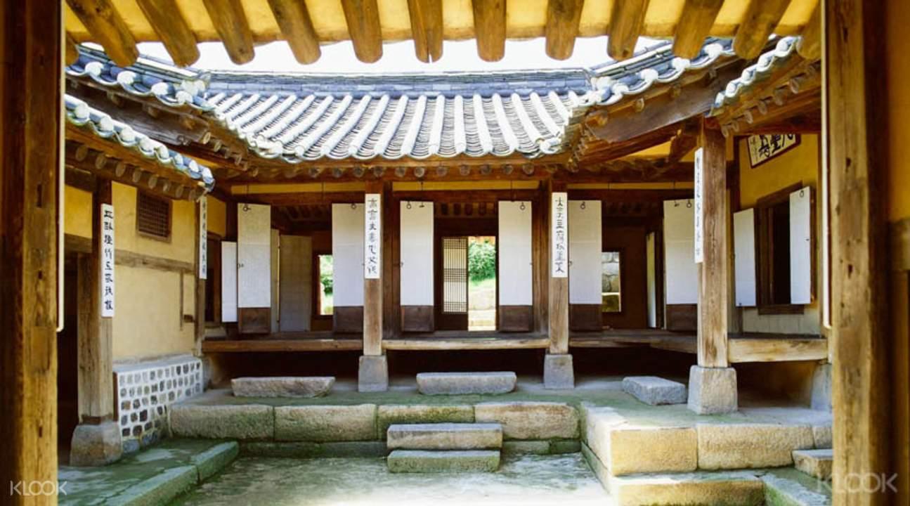 皇族宫殿与远古村落