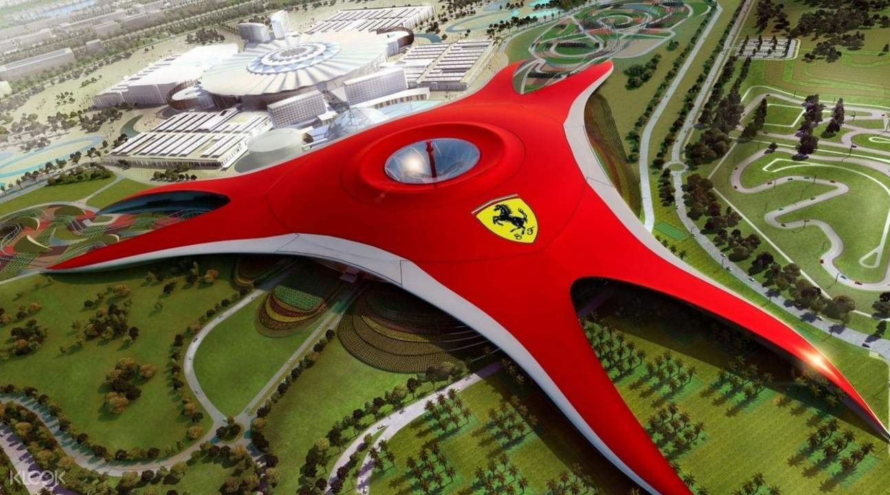 family fun ferrari world abu dhabi