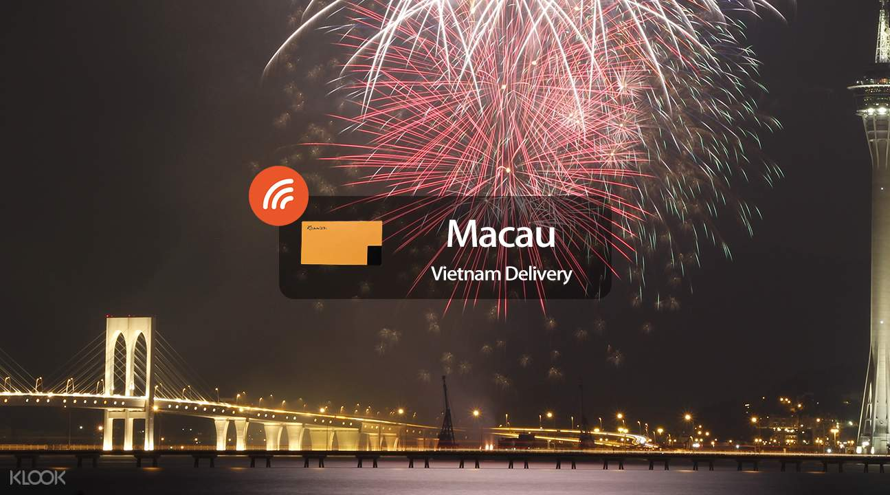 4G WiFi (Vietnam Delivery) for Macau