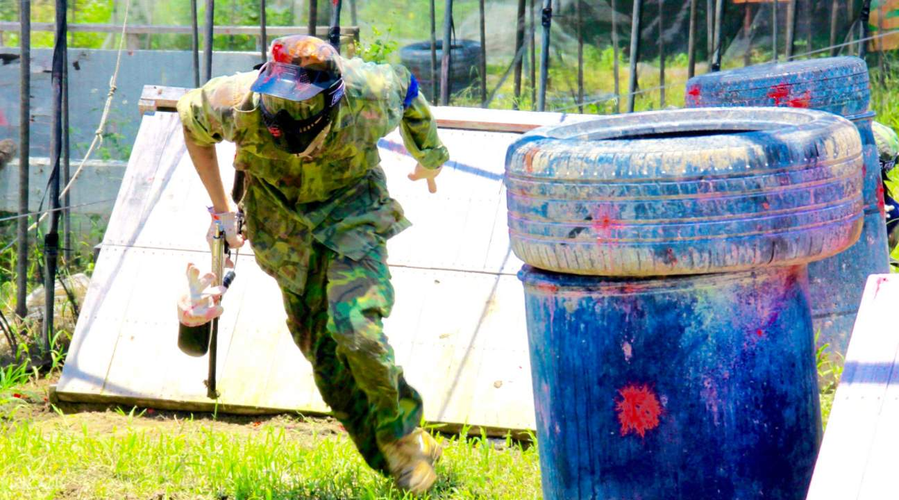 Taiwan paintball game