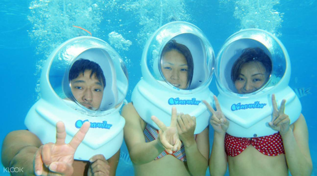 onna village underwater activities