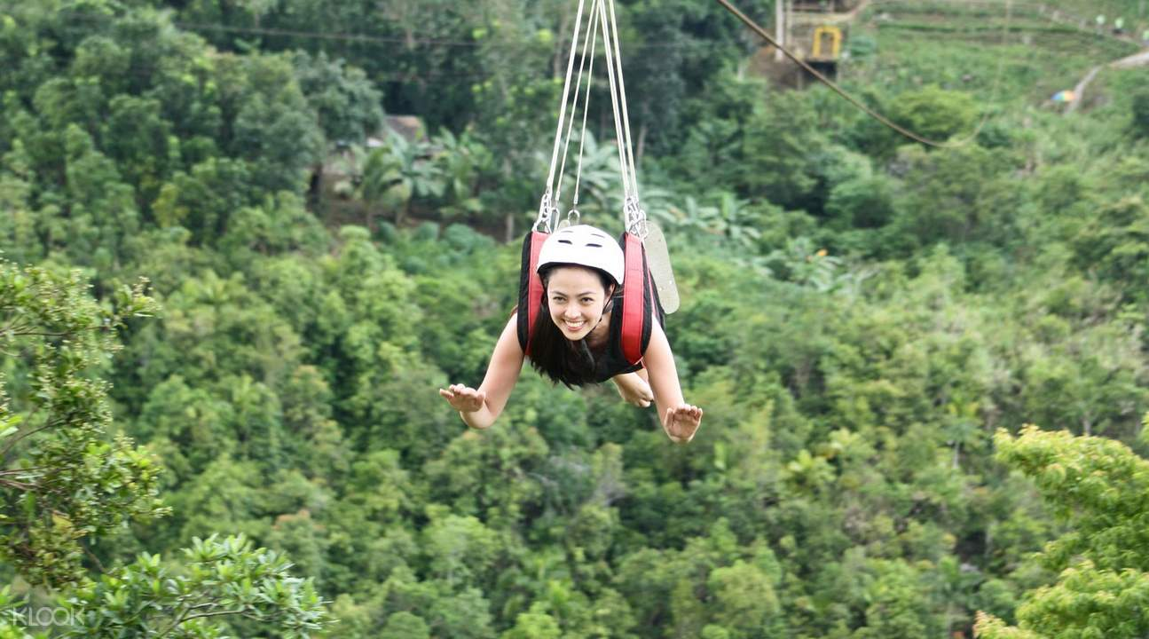 高空缆车 + 丛林飞越