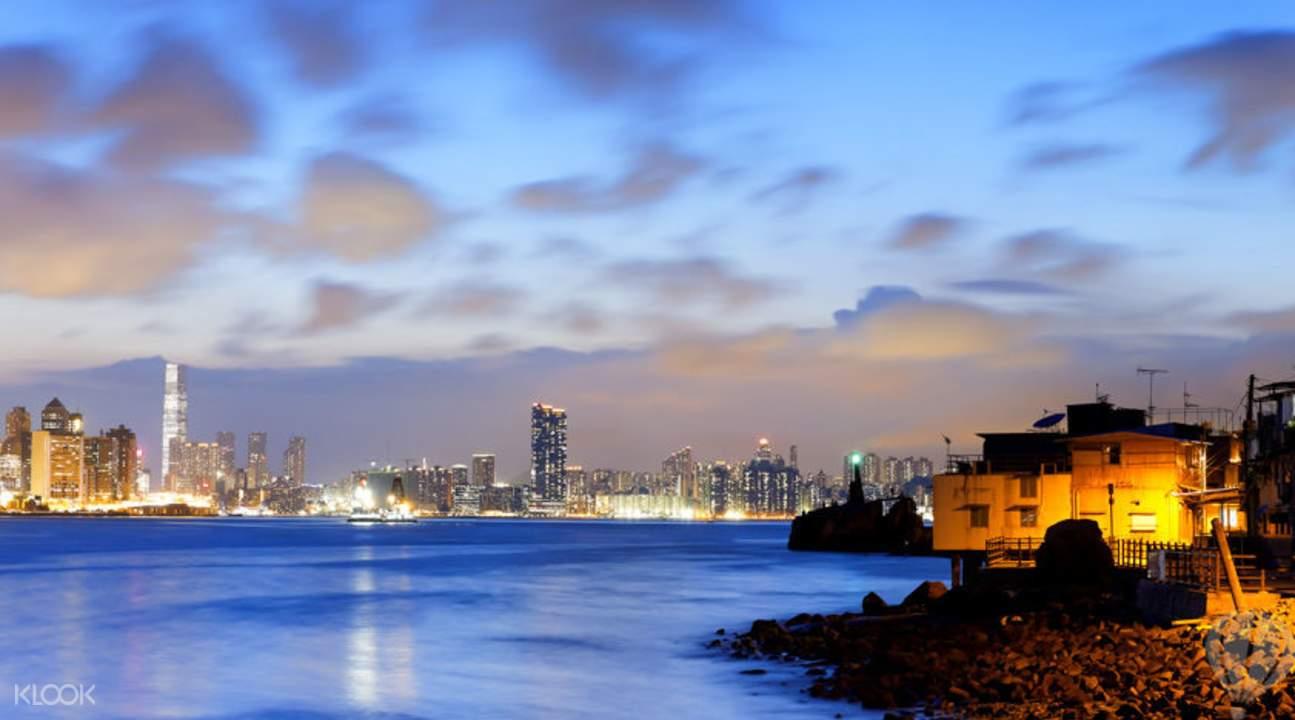 洋紫荊號觀光船夜遊維港