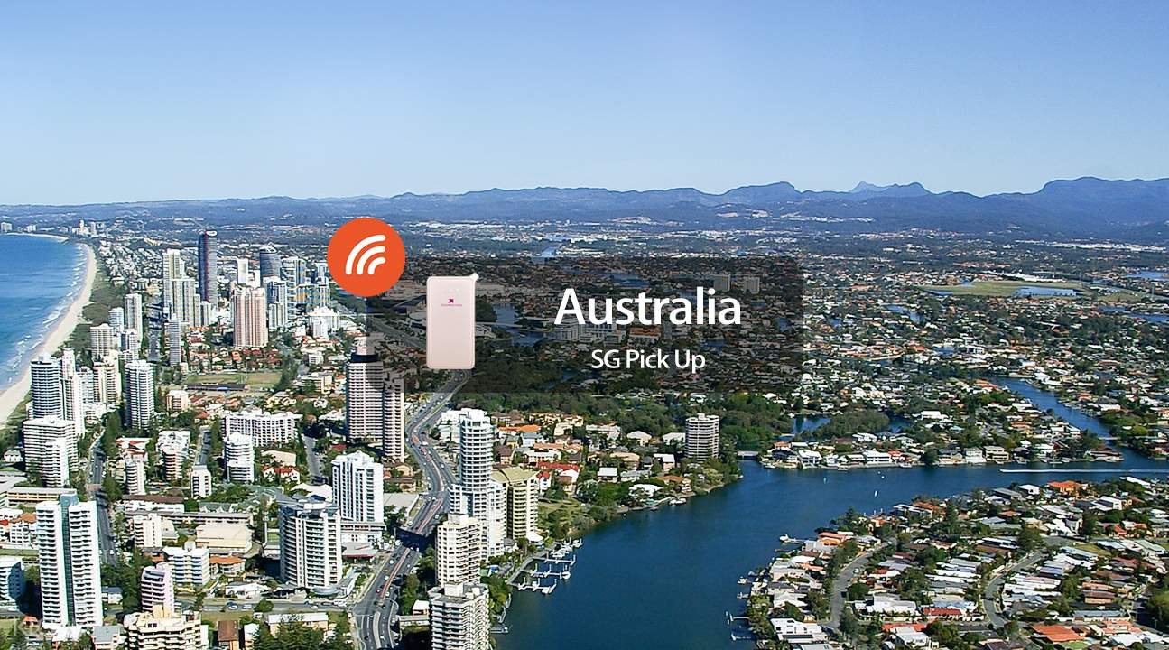 4G WiFi (SG Pick Up) for Australia