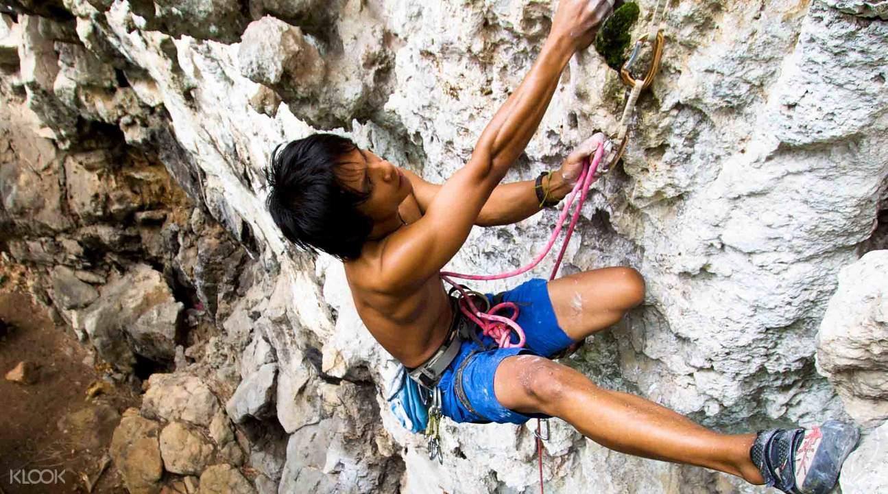 Chiang mai rock climbing