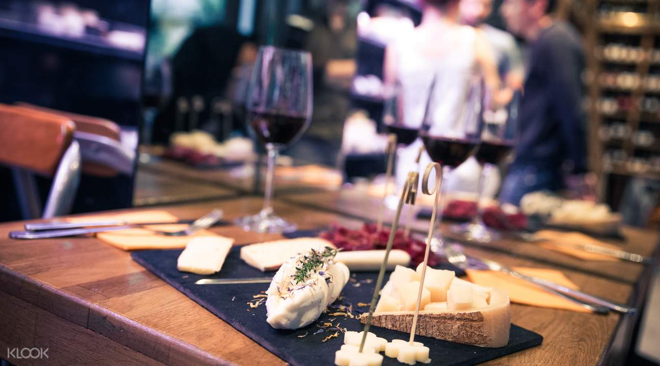 葡萄酒和奶酪品鉴