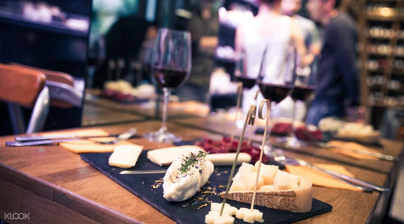 葡萄酒和奶酪品鑒