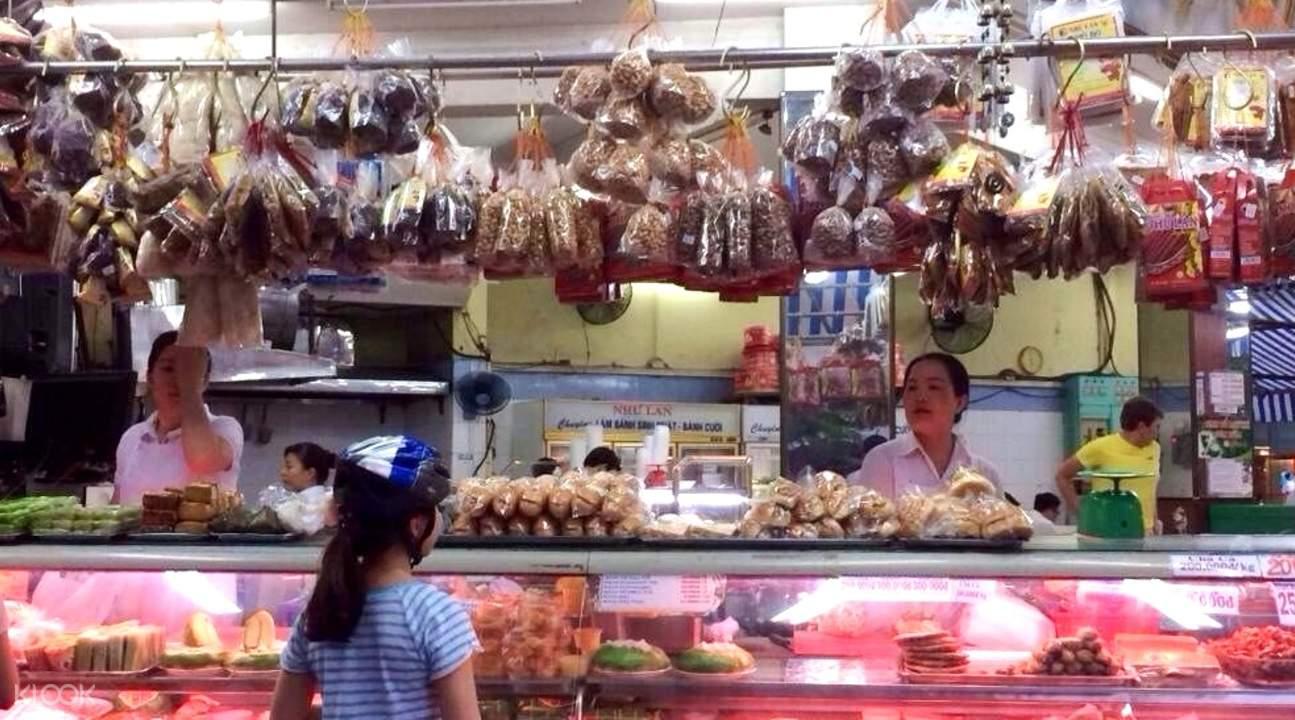 西贡夜市美食