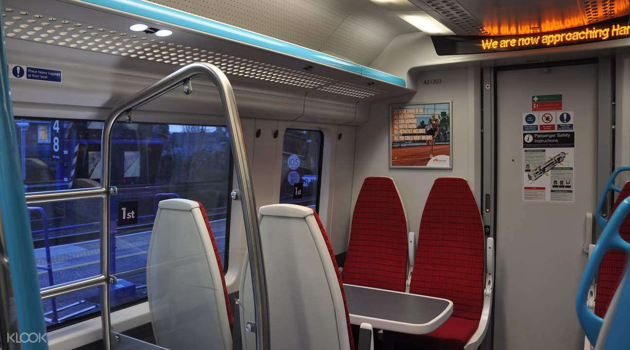 standard class gatwick express gatwick airport london united kingdom