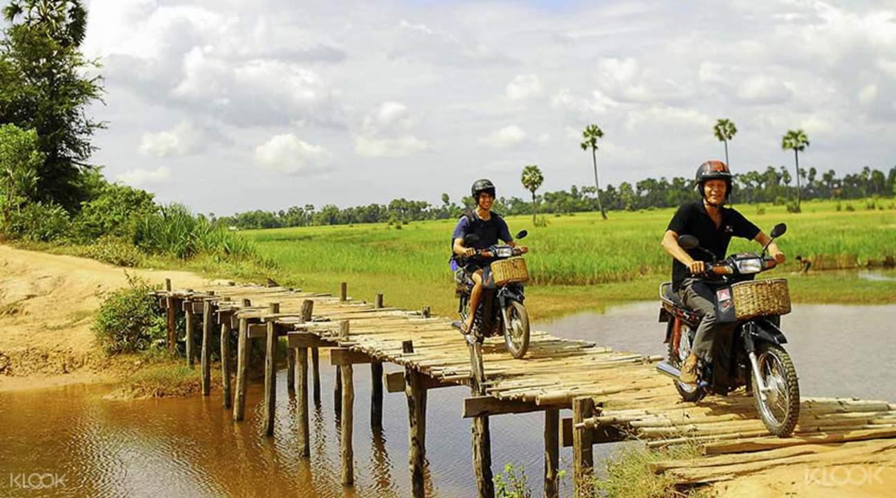 电动车柬埔寨郊野游