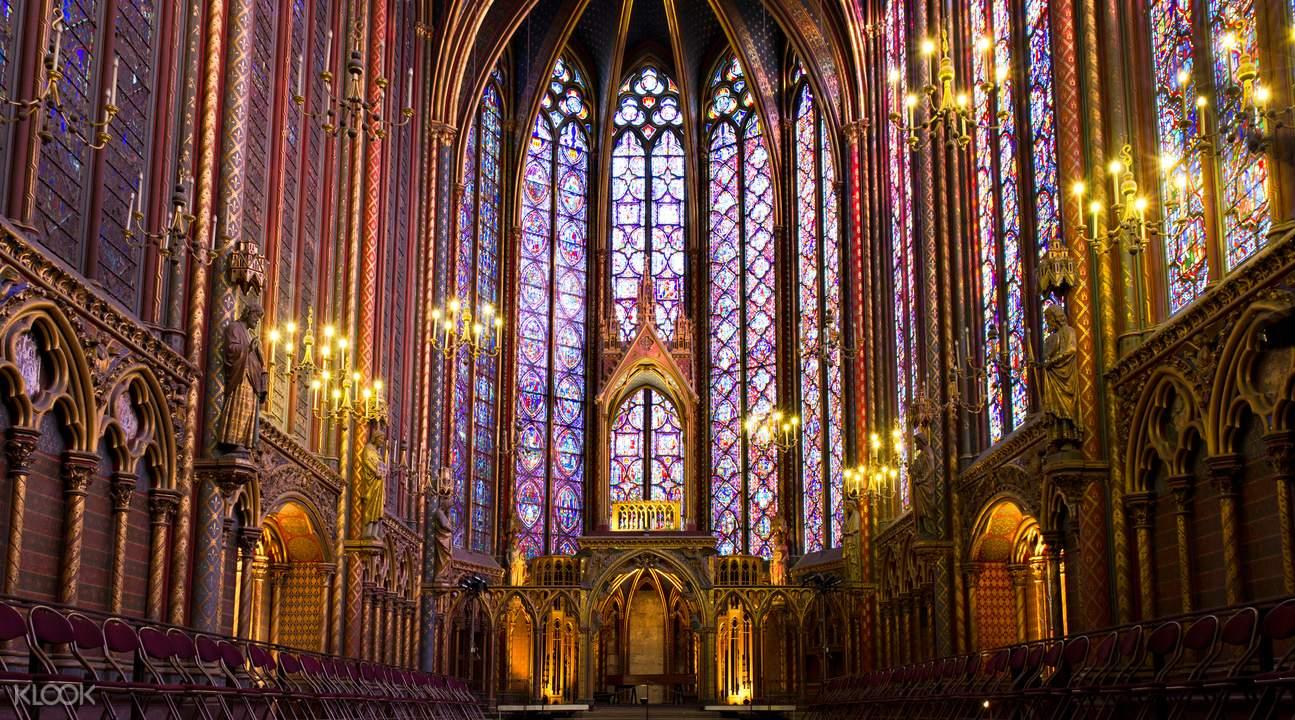 巴黎圣母院,巴黎圣礼拜堂,巴黎左岸半日游