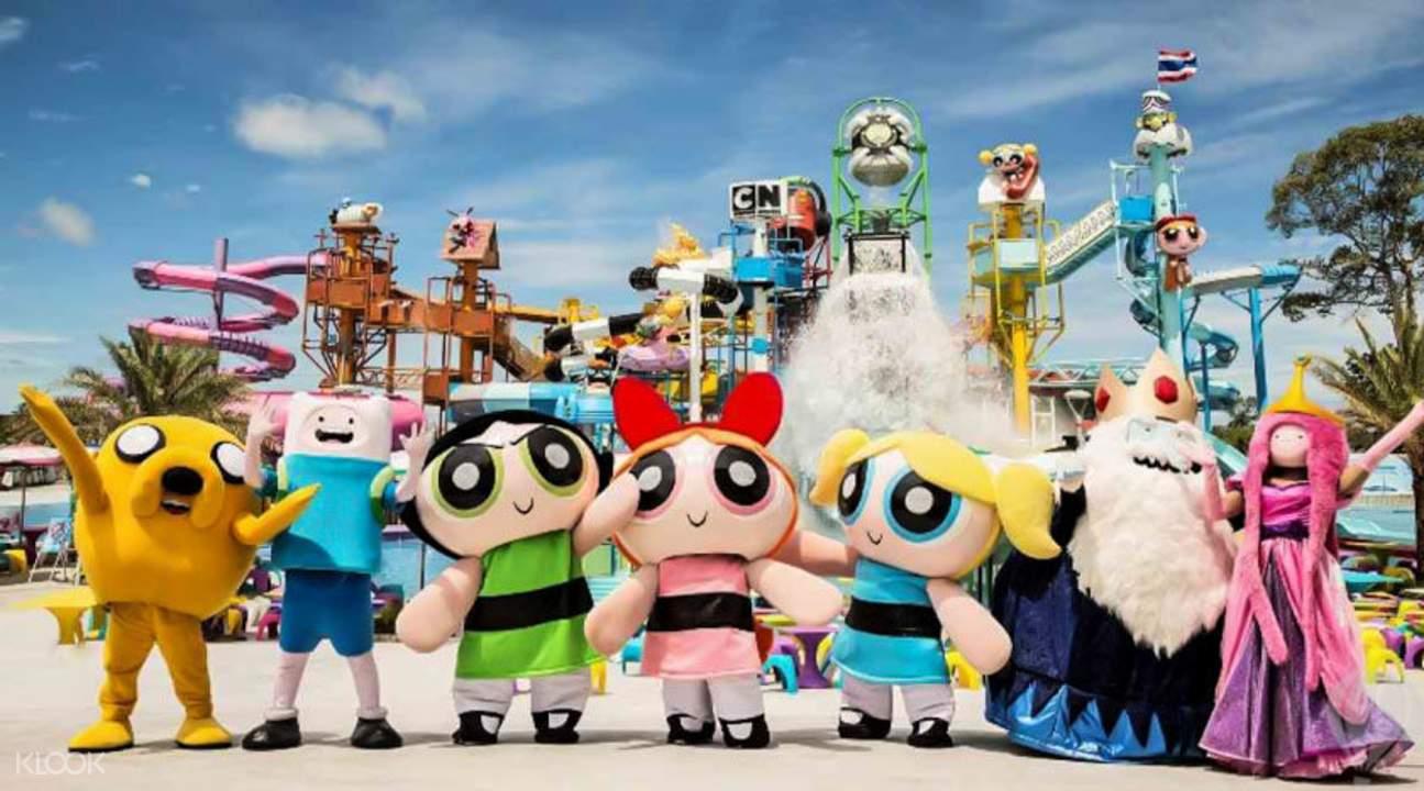 曼谷卡通频道水上乐园
