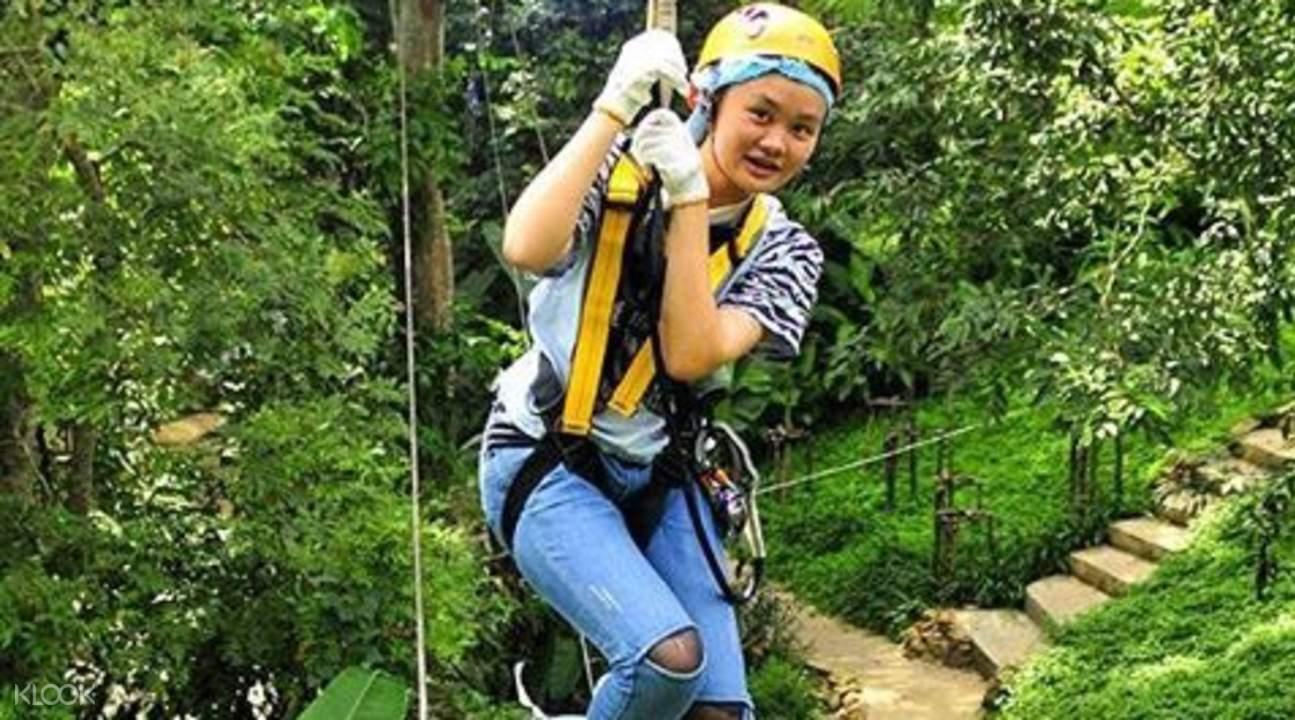 清邁叢林冒險