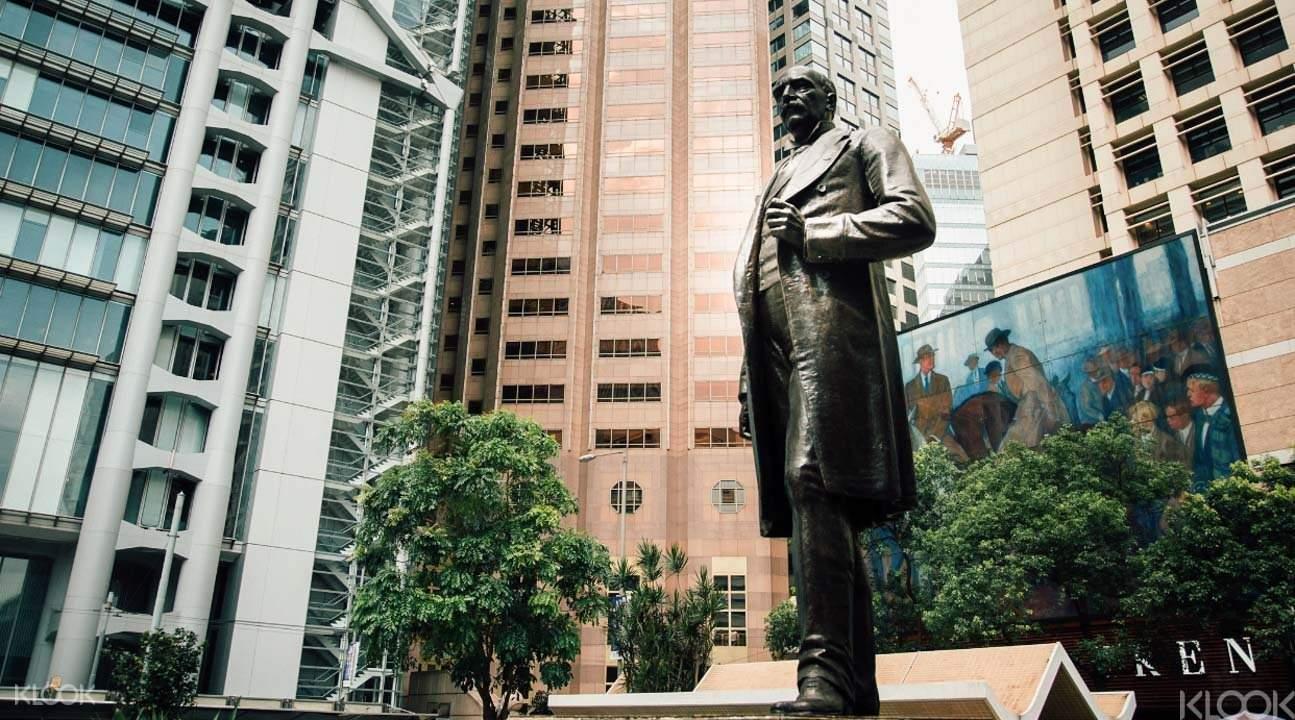 Central Hong Kong statue