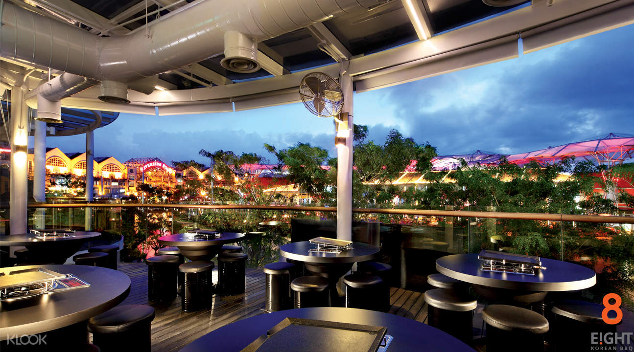 alfresco dining clarke quay view 8 korean bbq clarke quay singapore