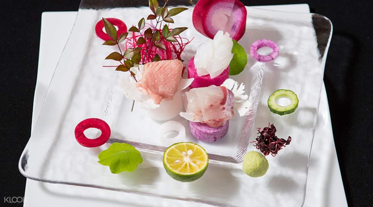 sushi and sashimi Kisshokichi Honten in Kobe Japan