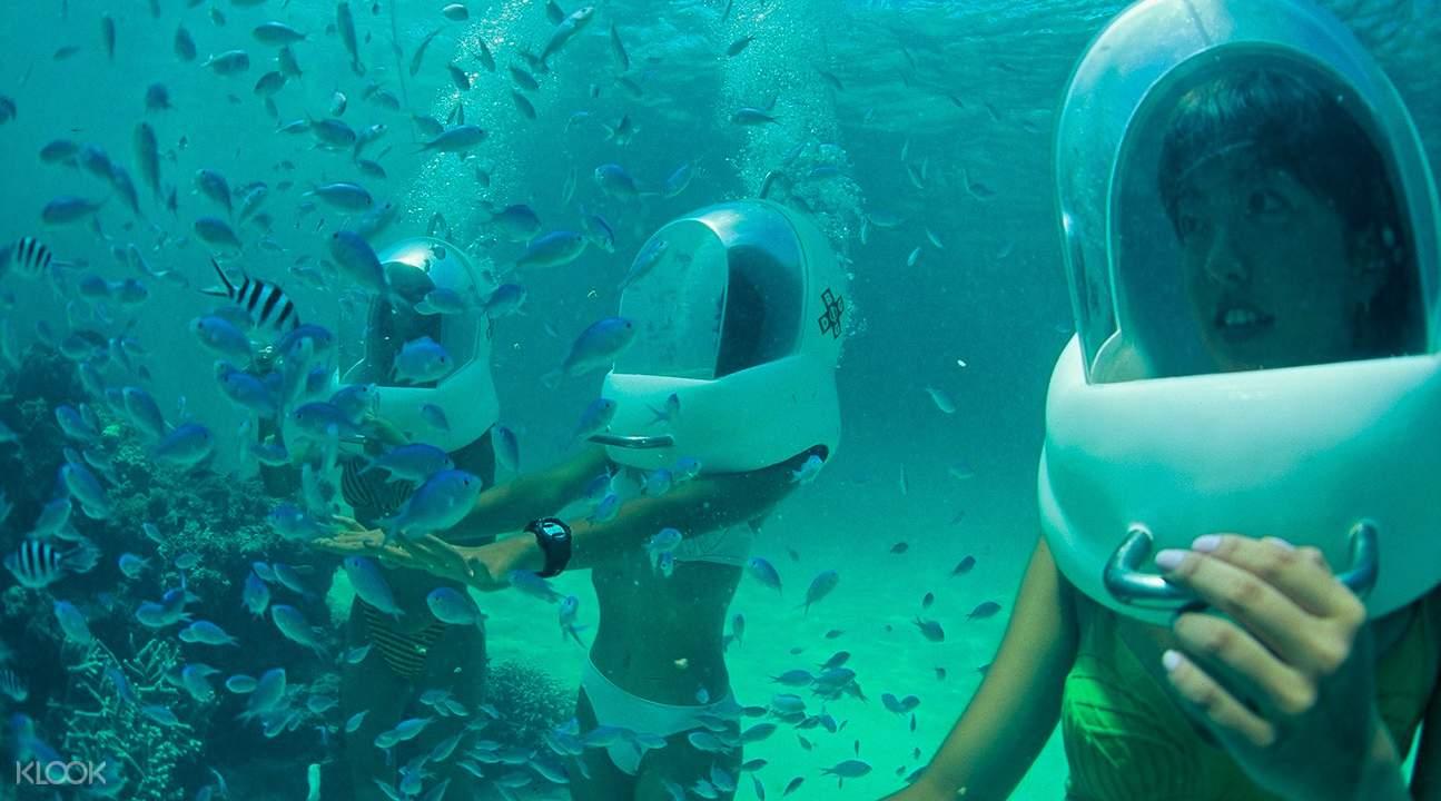 沖繩 海底漫步