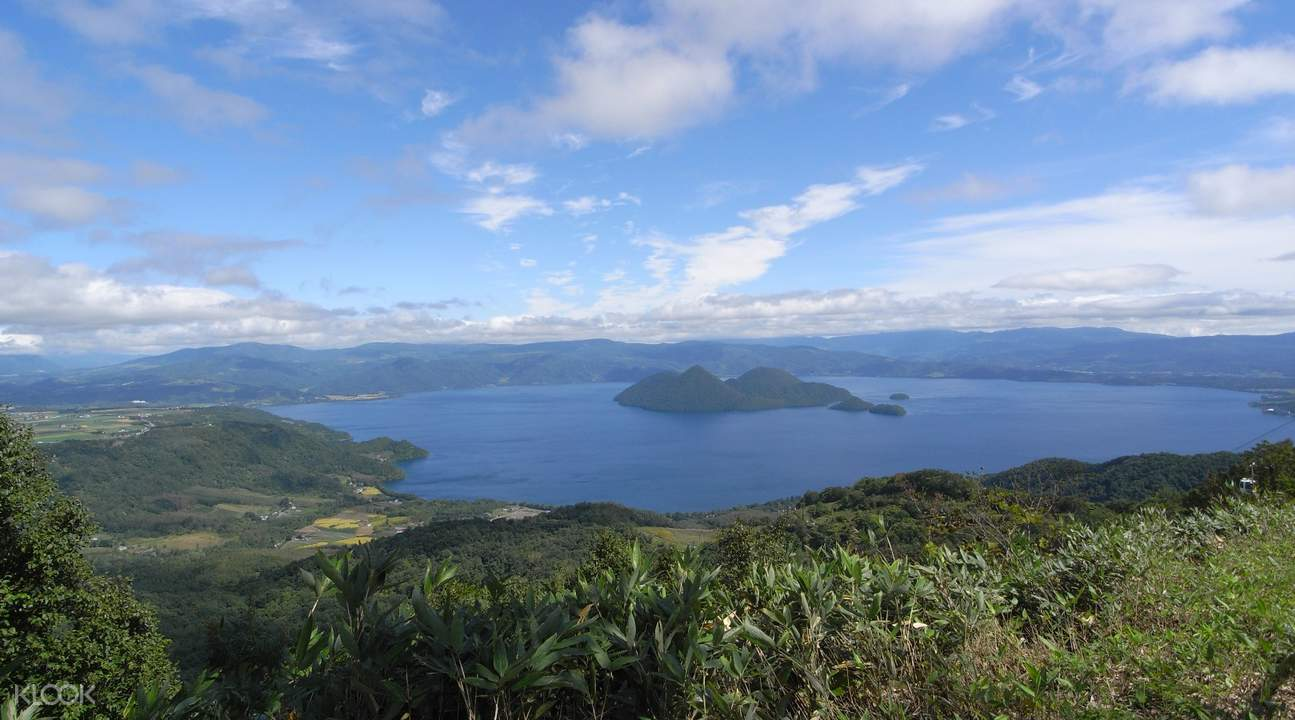 Lake Shikotsu and Lake Toya