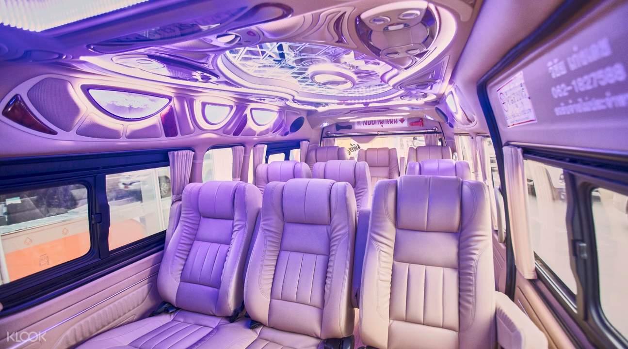 inside 12 seater van