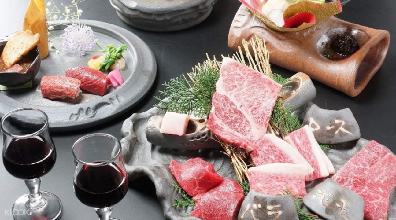 ozaki beef gin namba osaka japan