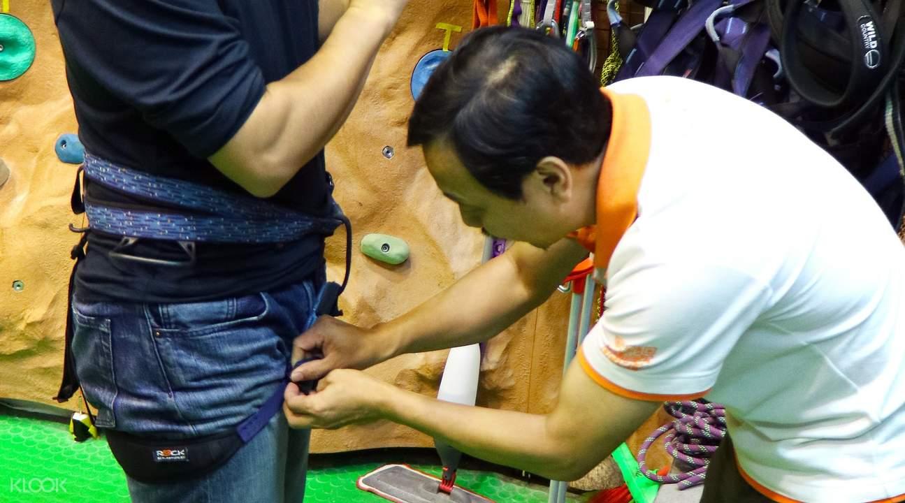 indoor rock climbing taiwan