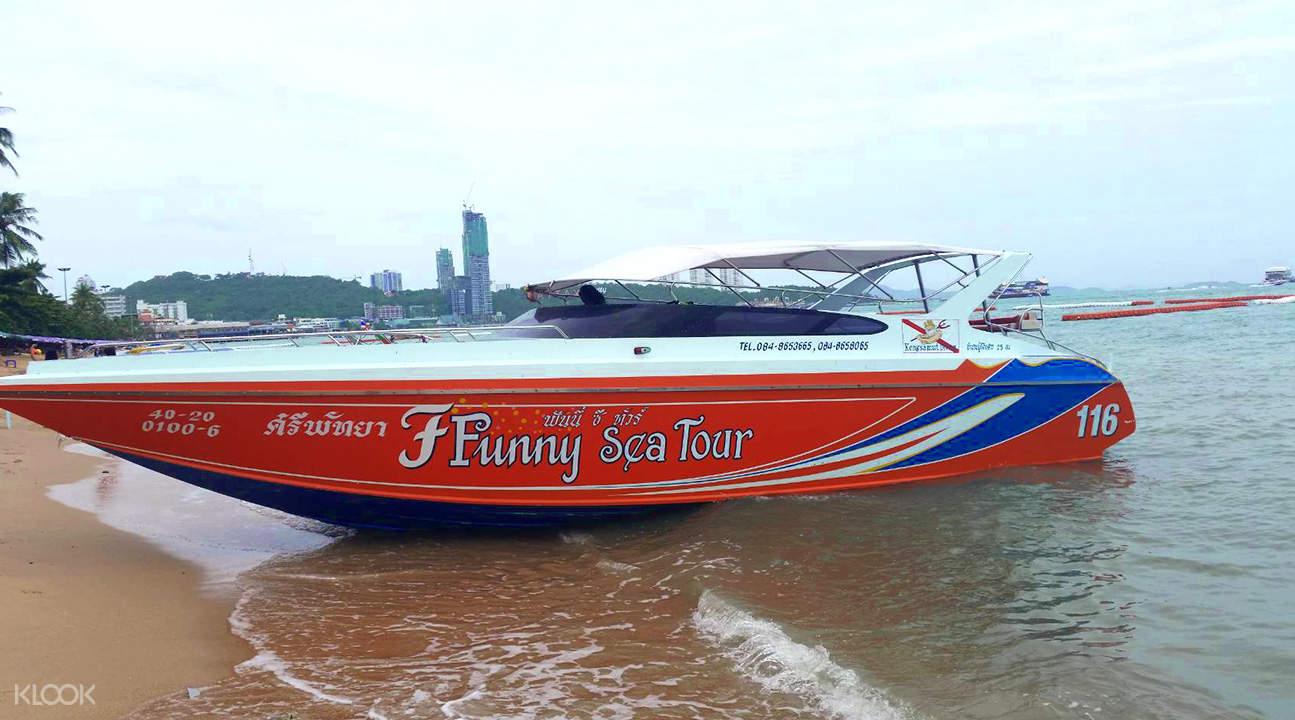 Boat Ride Pattaya