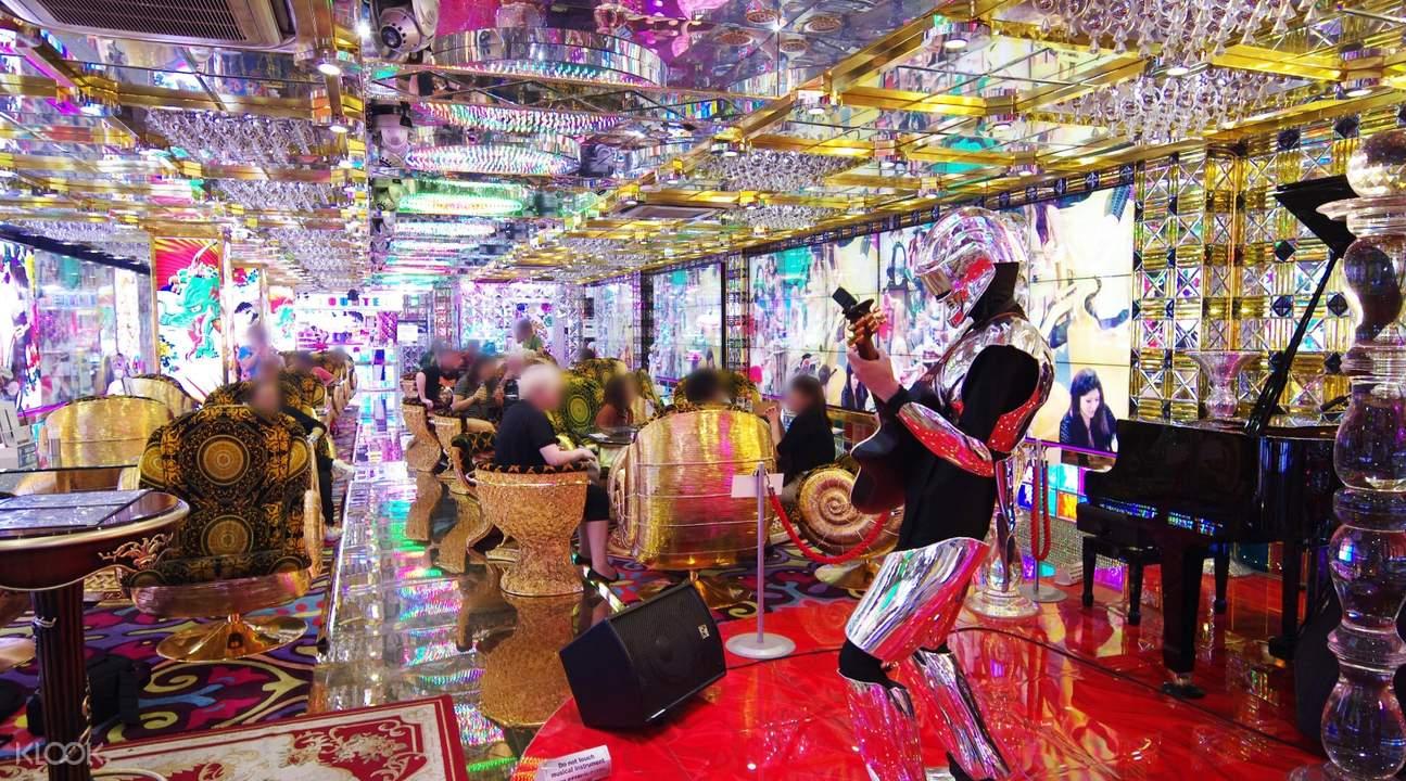 机器人餐厅入场券