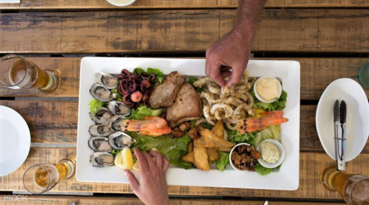 coffin bay seafood lunch