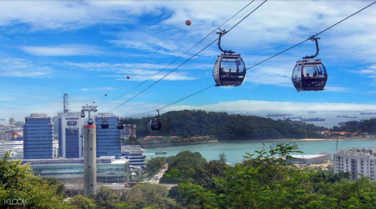 singapore cable car to mount faber