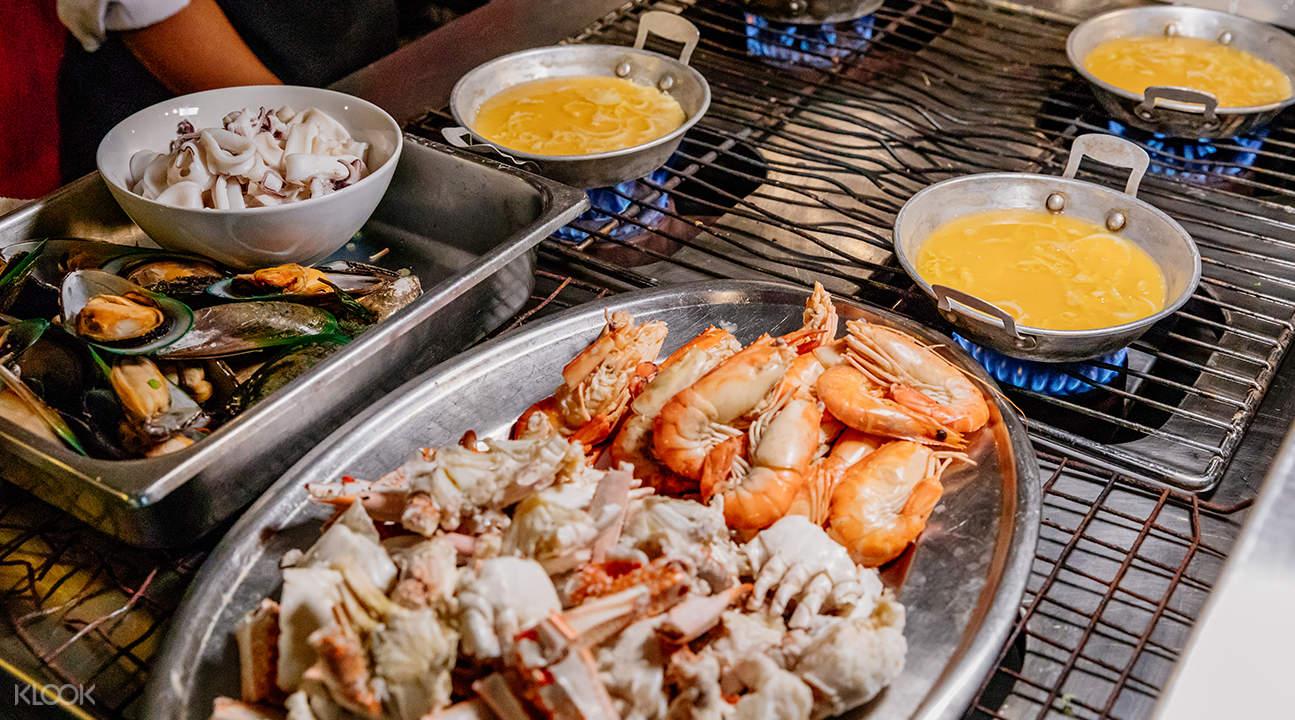 曼谷天空自助餐