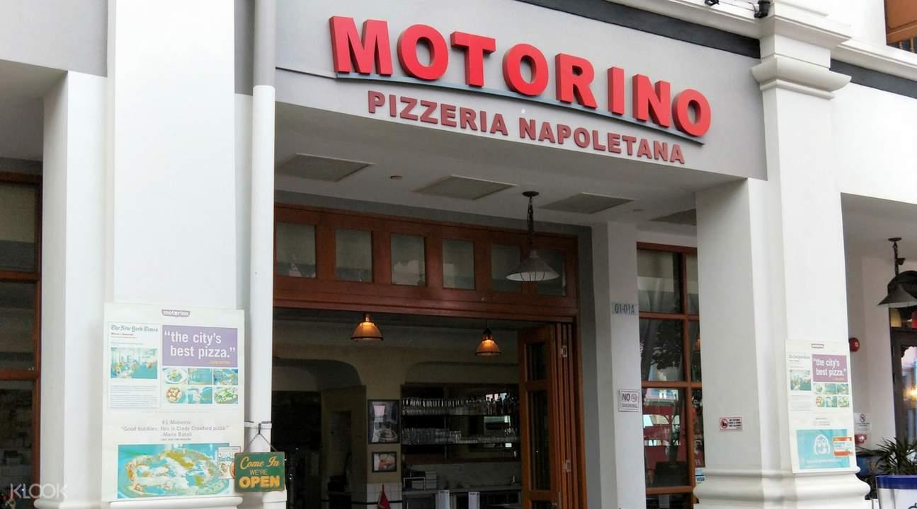 新加坡克拉碼頭Motorino Pizza