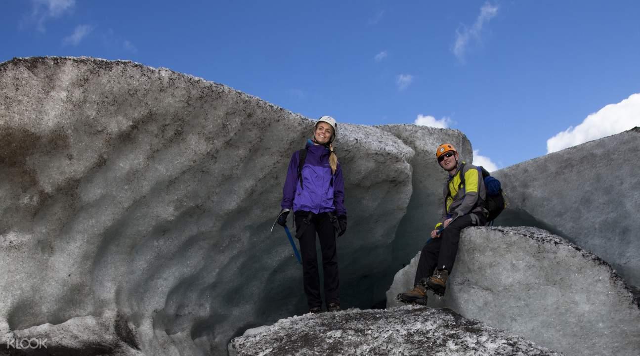 glacier explorer hiking tour