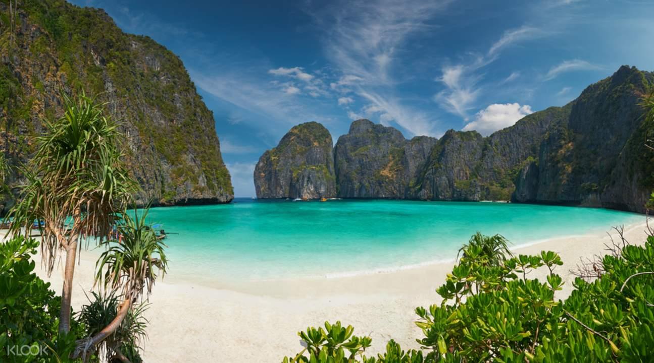 tour tàu nhanh ở vịnh maya đảo phi phi, tour tàu từ phuket