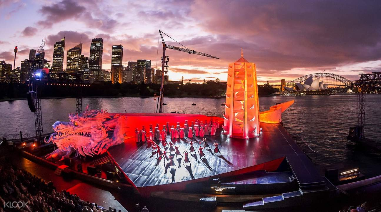 La boheme at Handa Opera on Sydney Harbour