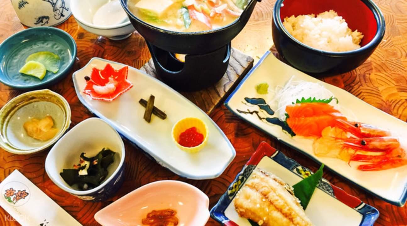 seafood lunch shakotan