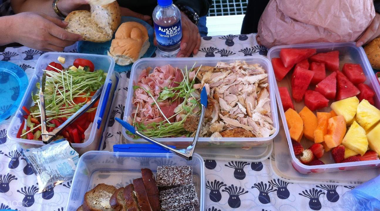 abrolhos islands picnic lunch