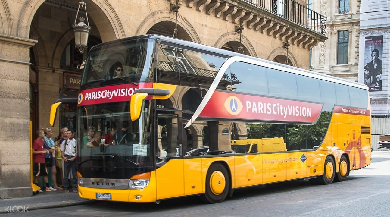 paris city bus tour