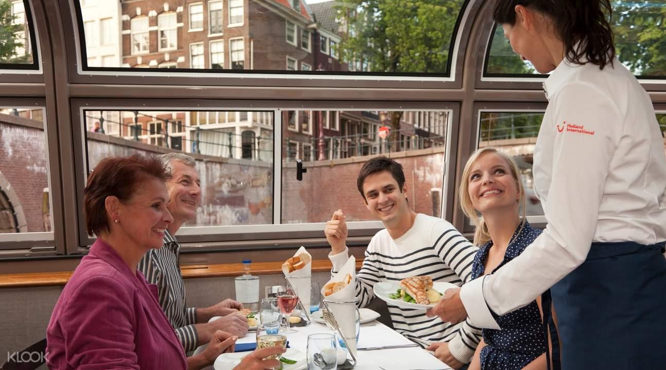 阿姆斯特丹晚餐游船