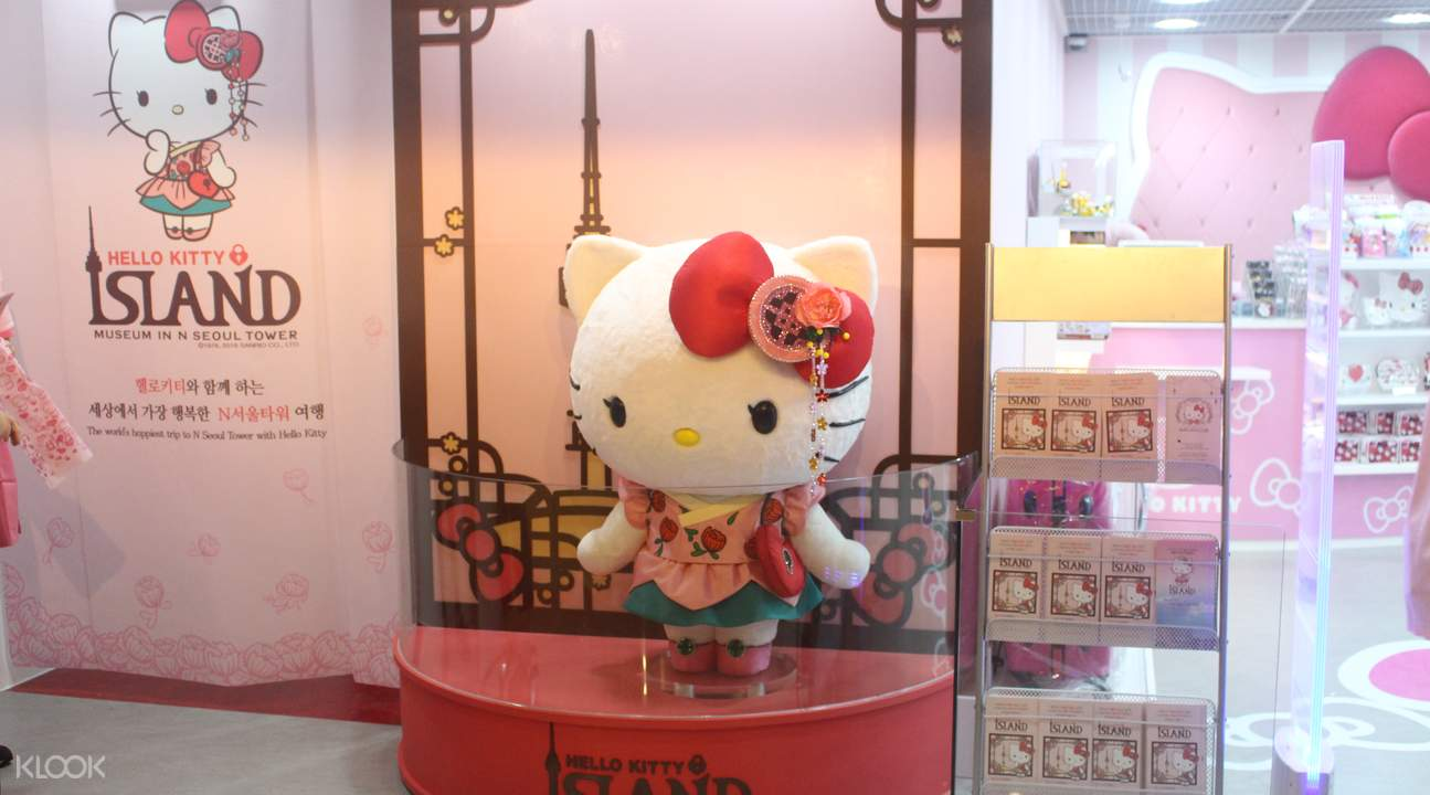 n seoul tower, hello kitty island seoul