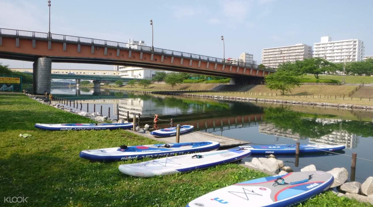 東京SUP立式划槳體驗