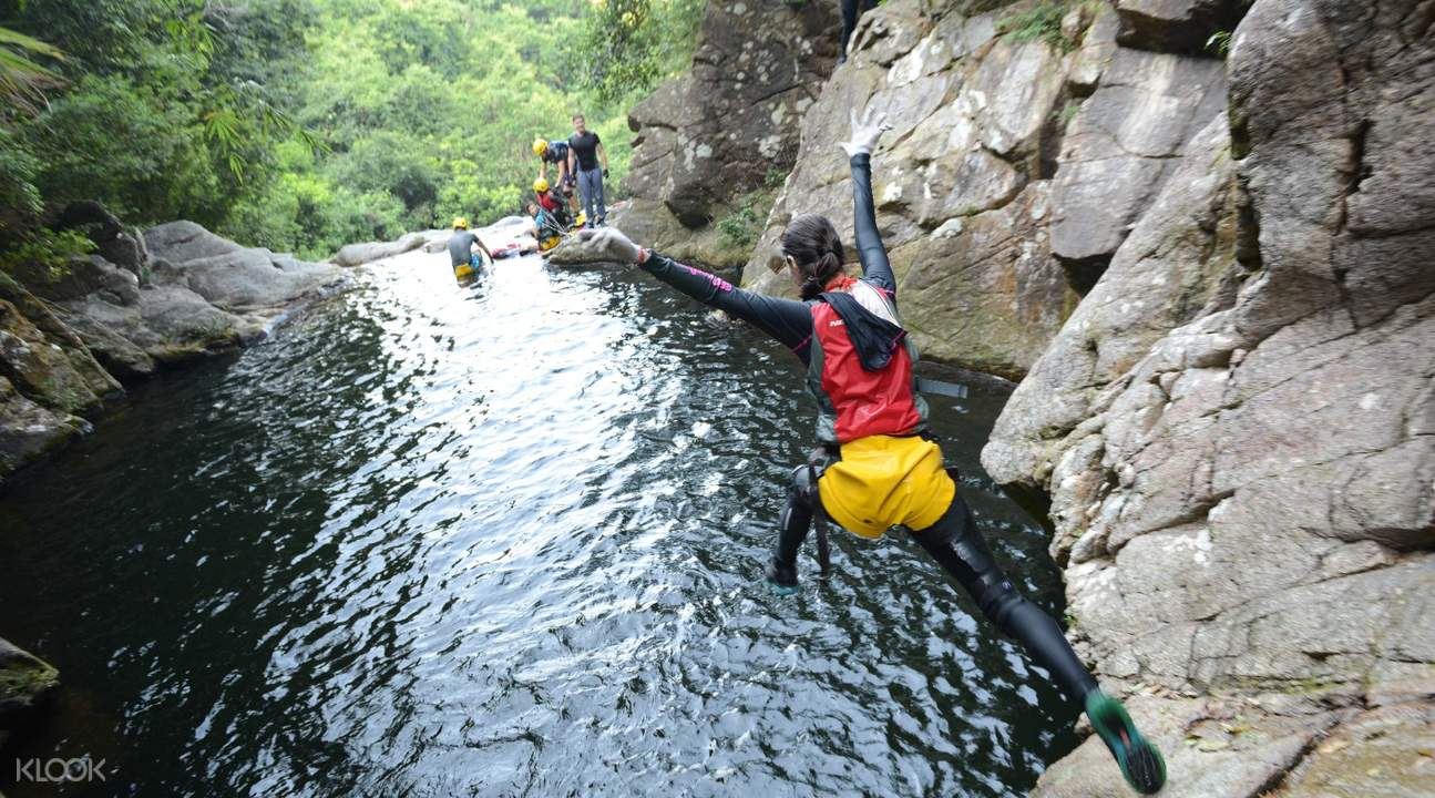 canyoning hk